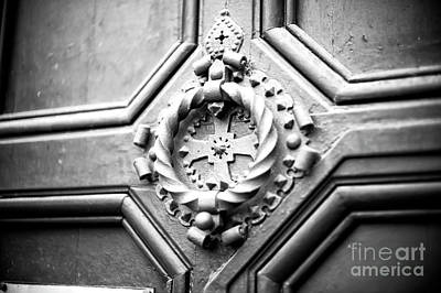Photograph - Cross Door Knocker by John Rizzuto