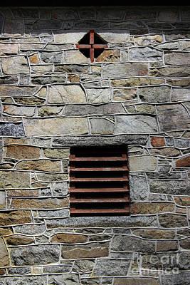 Photograph - Cross In A Wall by Karen Adams