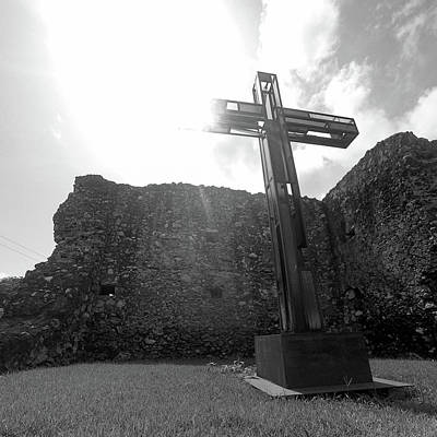 Wall Art - Photograph - Cross In Cabo Rojo by Giovanni Arroyo
