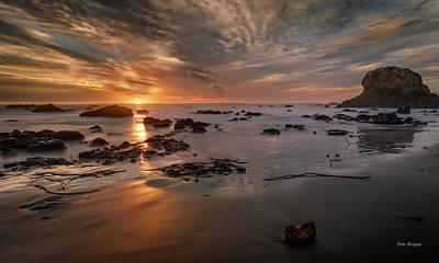 Photograph - Cross Light- San Simeon by Tim Bryan