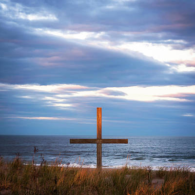 Photograph - Cross Light Square by Terry DeLuco