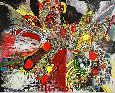 Painting - Dante's Infirmary by Richard Van Vliet