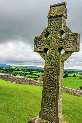 Catch Of The Day - Cross of Rock of Cashel by Elvis Vaughn
