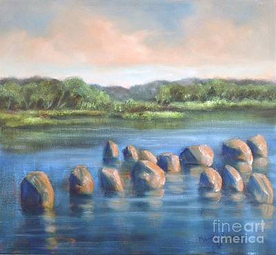 Painting - Cross Of Rocks  by Randol Burns