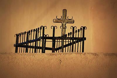 Photograph - Cross Of San Jose De Gracia by Nadalyn Larsen