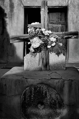 Photograph - Cross On The Rock by Nadalyn Larsen