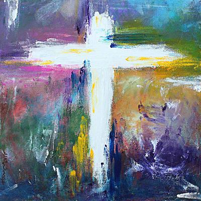 Painting - Cross - Painting #6 by Kume Bryant