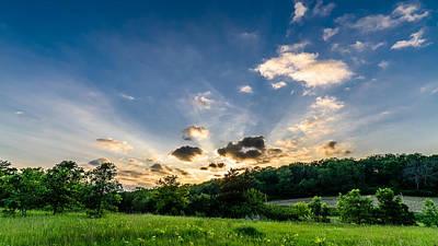 Photograph - Cross Plains Sunset by Randy Scherkenbach