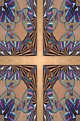 Cross Reflections Art Print by Ricky Kendall