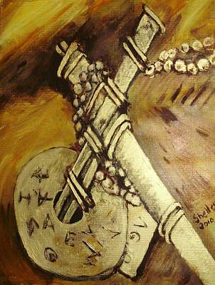 Painting - Cross by Shelley Bain
