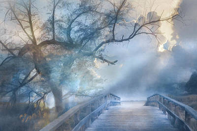 Photograph - Cross The Bridge Into Magic by Debra and Dave Vanderlaan