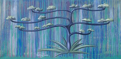 Cross Tree Art Print