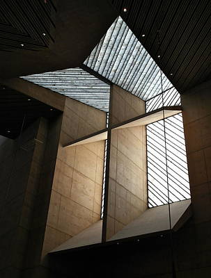 Photograph - Cross Window - Cathedral Of Our Lady Of The Angels by Michele Myers