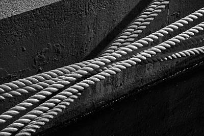 Crossed Ropes Art Print by William Haney