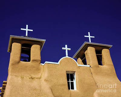 Photograph - Crosses In The Blue by Jon Burch Photography