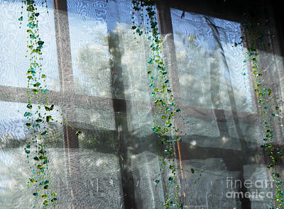 Old Town Temecula Photograph - Crosses In The Window by Cheryl Del Toro