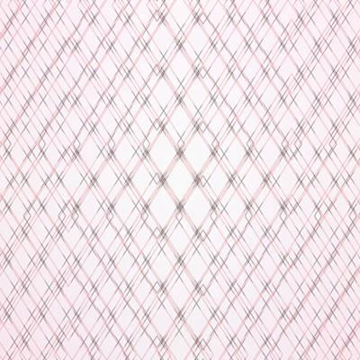 Digital Art - Crosshatch Pattern On Pale Pink Background by Gina Lee Manley