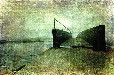 Photograph - Crossing A Bridge by Randi Grace Nilsberg