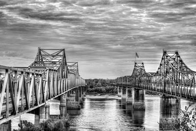 Photograph - Crossing Big Muddy by JC Findley