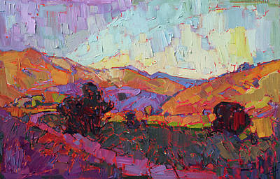 Painting - Crossing Hills by Erin Hanson