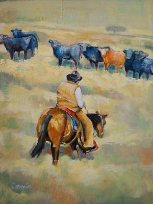 Painting - Crossing by Jean Cormier