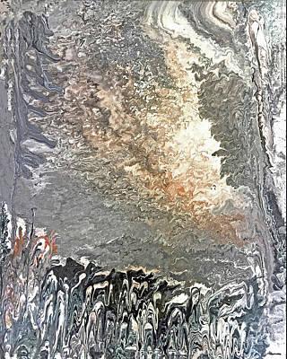 River Jordan Painting - Crossing Jordan by Nancy TeWinkel Lauren