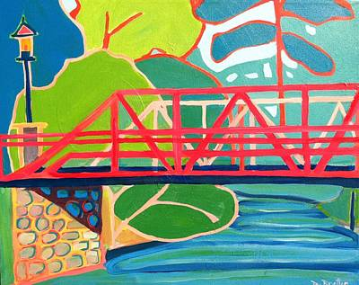 Painting - Crossing Over by Debra Bretton Robinson