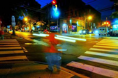 Port Chester Photograph - Crossing Pearl by Diana Angstadt