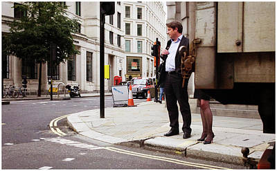 Photograph - Crossing by Stewart Marsden
