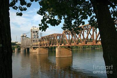 Crossing The Arkansas River Art Print by Don Trimble