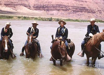 Crossing The Colorado River Art Print