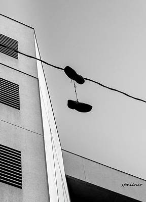 Photograph - Crossing The Line - Urban Life by Steven Milner