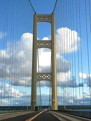 Photograph - Crossing The Mighty Mac by Keith Stokes