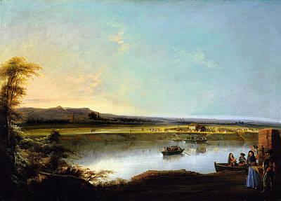 N.y Painting - Crossing The River Guadalquivir by MotionAge Designs