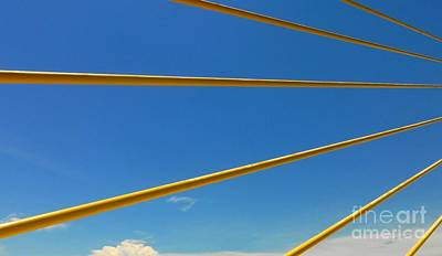 Photograph - Crossing The Sky Rays by Barbie Corbett-Newmin