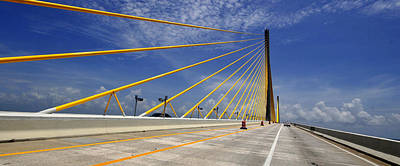 Photograph - Crossing The Skyway by David Lee Thompson