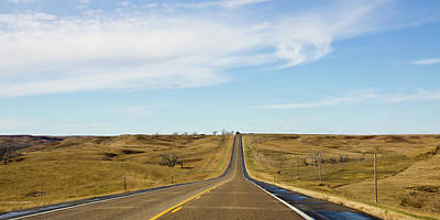 Photograph - Crossing The South Dakota Prairies  by Tatiana Travelways