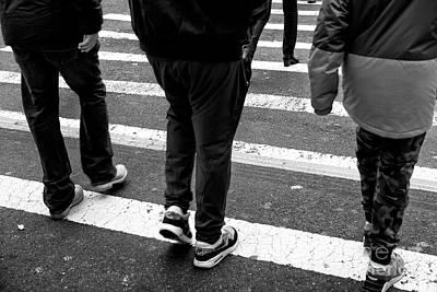 Photograph - Crossings 199 by John Rizzuto