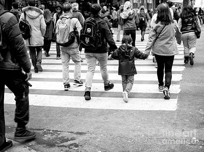 Photograph - Crossings Holding Hands by John Rizzuto