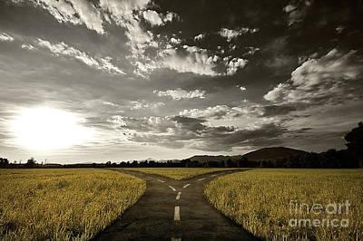 Crossroad Original by Giordano Aita