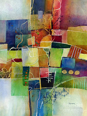 Abstract Works - Crossroads 2 by Hailey E Herrera
