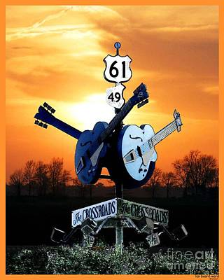 Photograph - Crossroads Clarksdale Tee by Lizi Beard-Ward