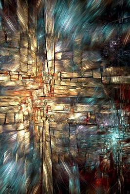 Digital Art - Crossroads by Kim Redd