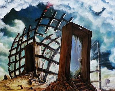 Painting - Crossroads  by Mariusz Zawadzki