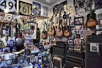 Photograph - Crossroads Music Store by Steve Archbold