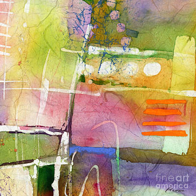 Abstract Trees Mandy Budan - Crossroads - Yellow by Hailey E Herrera