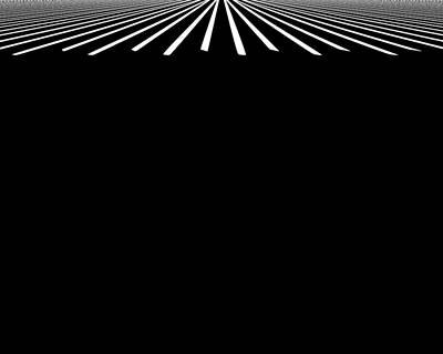 Digital Art - Crosswalk by Bob Wall
