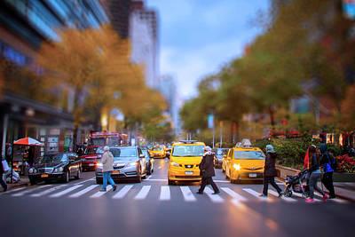 Photograph - Crosswalk by Mark Andrew Thomas