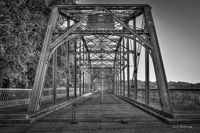 Photograph - Crossway Connection Walnut Street Pedestrian Bridge Chatanooga, Tennessee Art  by Reid Callaway
