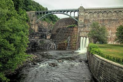 Photograph - Croton Dam In Summer by Kristia Adams